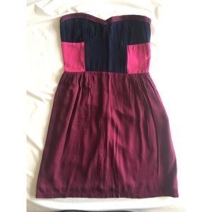 Urban Outfitters mid length strapless dress